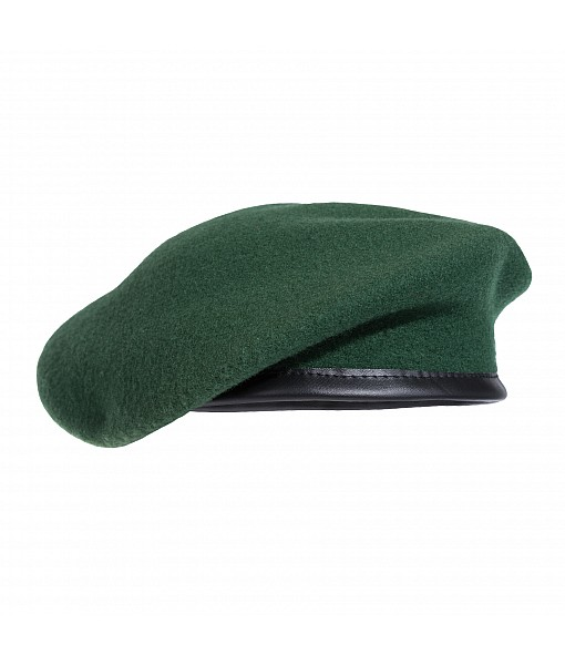 French Style Beret - Olive