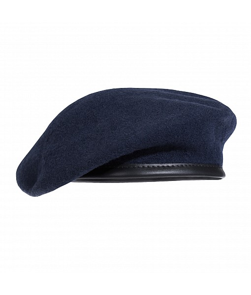 French Style Beret - Navy Blue