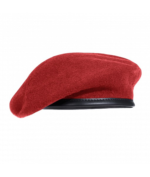 French Style Beret - Red